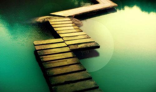 善良是一座可以走进你我彼此心房的桥