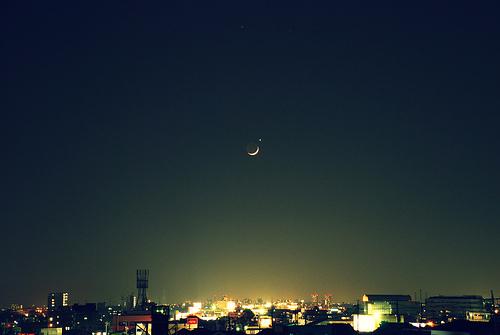 心水♥、静静的、夜、view、MrCheer