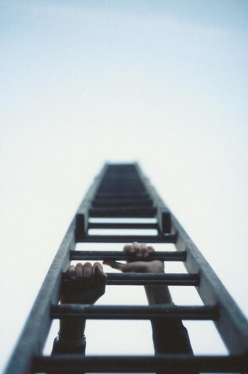 明天,我想带着盼望和脚步一齐奔向你