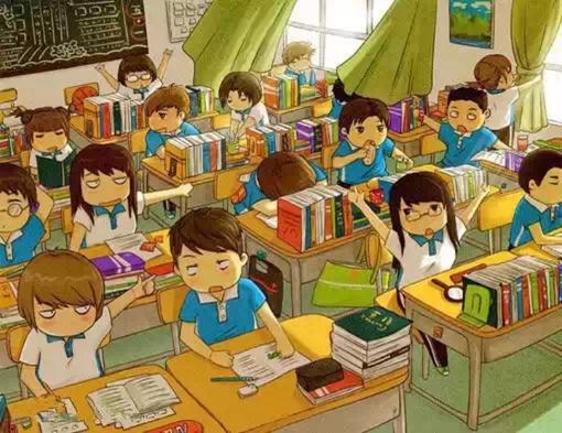 友谊、友情、同学、动漫、插花